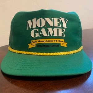 Vintage '90 Money Game Wisconsin Lottery Snapback